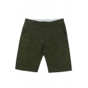 Men's Summer New Stylish Camouflage Printed Mid Waist Casual Cotton Chino Shorts