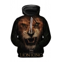 The Lion King 3D Printed Long Sleeve Pullover Unisex Hoodie