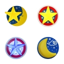 Nursing Room Starry Wall Sconce Metal Cartoon Style Multi-Color LED Sconce Light