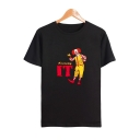IT Clown Round Neck Short Sleeve Loose Fitted Unisex T-Shirt
