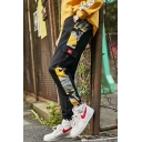 Men's Popular Fashion Camouflage Printed Trendy Multi-pocket Casual Cargo Pants