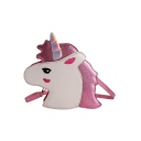 Popular Fashion Cartoon Unicorn Pattern Laser Crossbody Bag Purse 20*8*26 CM
