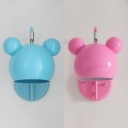 Modern Globe Wall Sconce Metal One Light Blue/Pink Rotatable Sconce Light for Child Bedroom