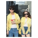 Summer Cool Simple Letter Print Sun Protection Zip Up Hooded Unisex Skin Jacket