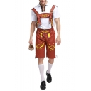 Men's Popular Fashion Beer Festival Costume Overalls Jumpsuits
