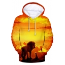 Hot Popular The Lion King 3D Printed Long Sleeve Casual Unisex Hoodie