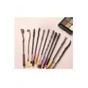 Stylish Popular Cool Magic Wand Shaped Eleven-Piece Cosmetic Makeup Brush