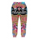 Funny Cartoon Cat with Glasses 3D Print Jogger Pants Sweatpants