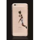 Funny Apple Basketball Player Print Mobile Phone Case for iPhone