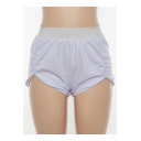 Summer Womens New Trendy Simple Plain Casual Leisure White Sport Shorts