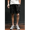 Men's Summer New Fashion Large Pocket Loose Fit Casual Cargo Shorts