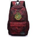 Fashion University Badge Logo Printed Magic Backpack School Bag 30*15*45cm