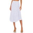 Summer Hot Stylish High Waist Casual Holiday Midi A-Line Skirt