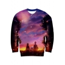 Trendy Black Clover Comic Character 3D Printed Round Neck Long Sleeve Pullover Sweatshirt