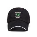 Trendy South Side Snake Logo Printed Unisex Baseball Cap