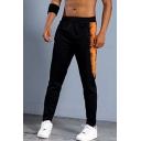 Men's New Stylish Printed Elastic Waist Slim Fit Casual Running Pants