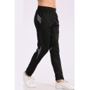 Unisex Basic Fashion Striped Printed Elastic Waist Running Sports Track Pants
