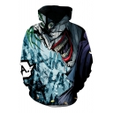 New Stylish Cool Comic Character 3D Printed Long Sleeve Sport Loose Hoodie