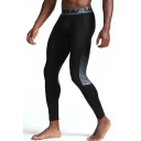 Men's New Fashion Printed Breathable Quick-drying Skinny Sports Pants
