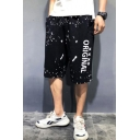 Men's Summer New Stylish Letter ORIGINAL Printed Loose Fit Casual Cotton Sweat Shorts