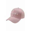 Popular Dot Letter FRIENDS Embroidery Cotton Baseball Hat Cap