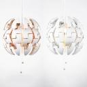 Gold/Sliver Exploding Pendant Light Contemporary Metal 1 Head Hanging Lamp for Restaurant Bar Cafe