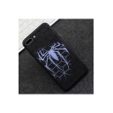 Popular Spider Cameo Frosted Silicone Black iPhone Case