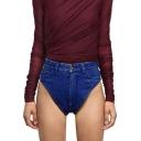 Womens Summer Sexy Panty Hot Pants Skinny Fit Denim Shorts