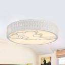 Acrylic Butterfly/Cloud/Dolphin Ceiling Mount Light Child Bedroom Animal Third Gear/White Lighting Ceiling Lamp