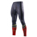 Popular Fashion Cosplay Printed Quick Drying Highly Elastic Skinny Sports Jogging Pants