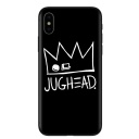 Popular Crown Letter South Side Snake Logo Printed Black iPhone Case