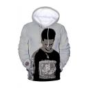 American Popular Rapper 3D Printed Long Sleeve Drawstring Hoodie