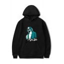 New Fashion The Big Lebowski Figure Printed Long Sleeve Unisex Casual Loose Pullover Hoodie with Pocket