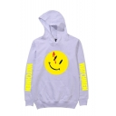 Hot Fashion Letter WATCHMAN Emoji Printed Long Sleeve Unisex Sports Pullover Hoodie