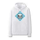 Popular Fashion Game Figure Letter X Printed Long Sleeve Casual Loose Hoodie
