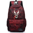 New Trendy Comic Logo Printed Outdoor Traveling Bag Backpack 30*15*45cm