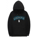 Hot Popular Letter ASPECTS Printed Long Sleeve Unisex Casual Pullover Hoodie with Pocket