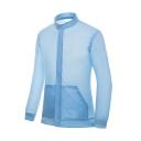 New Stylish Plain Long Sleeve Zip Placket Unisex Sun Protection Coat