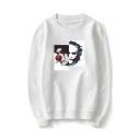 Hot Popular Joker Printed Long Sleeve Round Neck Unisex Casual Pullover Sweatshirts