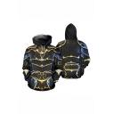 Daedric Armor 3D Printed Cosplay Costume Black Long Sleeve Pullover Hoodie