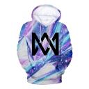 Hot Popular Norwegian Twins Singer Logo Printed Drawstring Hooded Long Sleeve Loose Fit Unisex Hoodie
