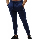 Men's New Fashion Drawstring Waist Slim Fit Casual Jogging Sweatpants