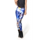 Womens Star Wars Starry Sky Print Full Length Elastic Leggings