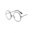 Harry Potter Classic Vintage Big Circle Black Eyeglasses