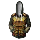 Far From Home Mysterio Cosplay Costume Zip Up Hoodie