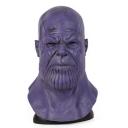 Halloween Funny Comic Cosplay Costume Purple Bald Figure Mask