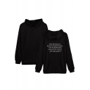 WHY BE RACIST SEXIST HOMOPHOBIC OR TRANSPHOBIC WHEN YOU COULD JUST BE QUIET Letter Printed Long Sleeve Casual Sports Zip Up Hoodie