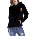 New Stylish Well Can Us Open 100 Letter Tennis Printed Long Sleeve Hoodie With Pocket