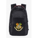 Popular University Badge Logo Creative USB Charge School Bag Backpack 36*16*50cm