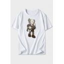 New Fashion Cartoon Doll Printed Unisex Short Sleeve T-Shirt